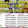Maraton futbol sala 2018
